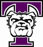 T-Dog Logo for Truman State University Athletics